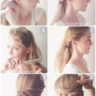 Easy hairstyle steps for long hair