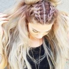 Fun hairdos for long hair