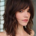 Hairstyles for 2019 with bangs