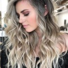 Hairstyles for long wavy hair 2019