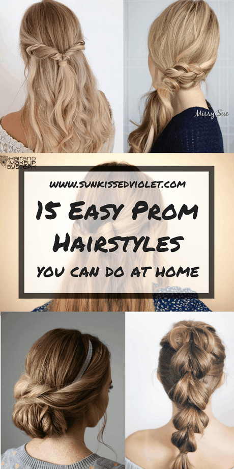 Home hairstyles for long hair