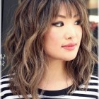 Ladies hairstyles with fringe 2019