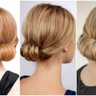 Making hairstyles for long hair