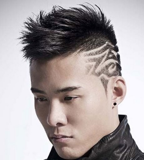 New model hairstyle