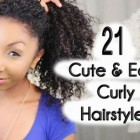 Quick easy hairstyles for thick hair