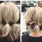 Quick easy updos for short hair