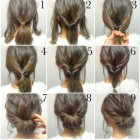 Quick hair updos for long hair