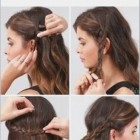 Quick hairstyles for long wavy hair