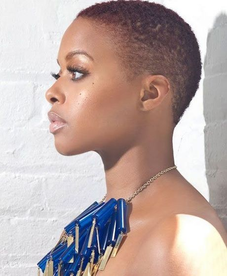 Short haircuts for black african women