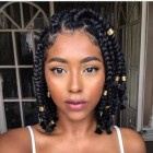 Styles for braids 2019