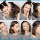 Super easy hairstyles for short hair