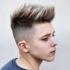 Trim hairstyle