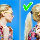 Very simple and easy hairstyles
