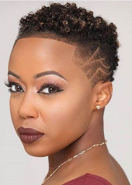 2020 short haircuts for black hair
