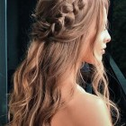 Hair for bridesmaids 2020