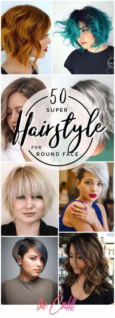 Haircut for round face girl 2020