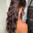 Half up half down hairstyles 2020