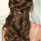 Long hair prom styles 2020