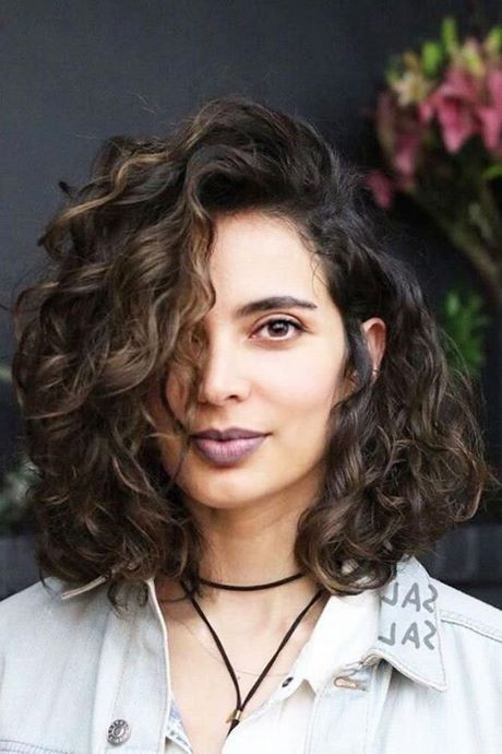 New hairstyles for curly hair 2020