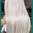 Platinum blonde hairstyles 2020