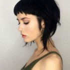Short bang hairstyles 2020