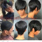 Short black weave hairstyles 2020