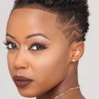 Short hairstyle for black ladies 2020