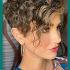 Womens short curly hairstyles 2020