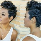 Black short hair designs