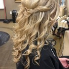 Cute curly hairstyles for homecoming