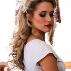 Elegant pin up hairstyles