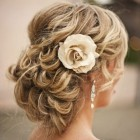 Girls hair for prom