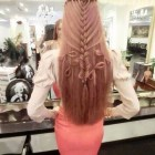 Hair design for long hair