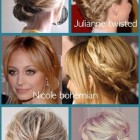 Hair up ideas medium length
