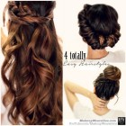 Hairstyle design long hair