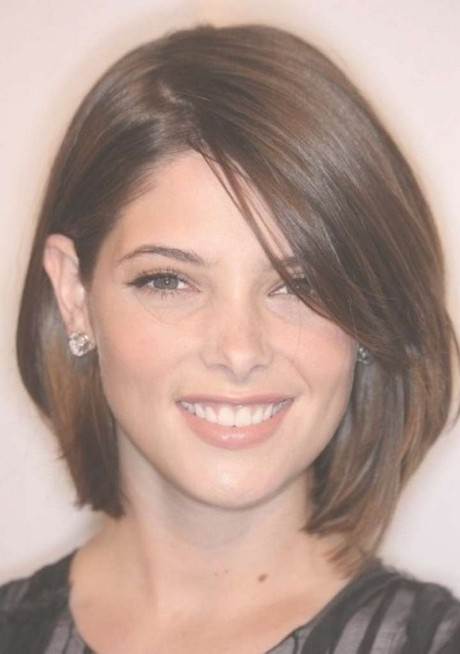Modern haircuts for round faces