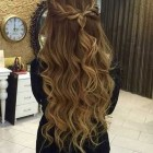 Prom hairstyles for long hair with braids