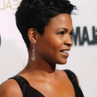 Short haircut african american hair