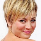 Very short hairstyles for round faces 2018