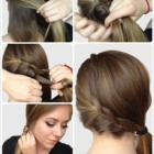Hair style for hair