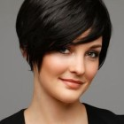 Hairstyles for short cut hair