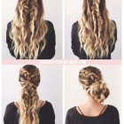 Cute braided hairstyles for long thick hair