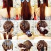 Different everyday hairstyles