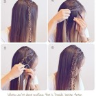 Easy braids for long thick hair