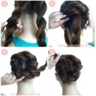 Easy elegant updos for long hair