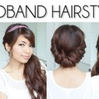 Easy updos for long straight hair