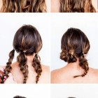 Everyday hair updos