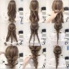 Everyday hairdos for long hair