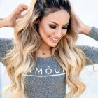 Everyday hairstyles for long thick hair