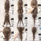 Everyday styles for long hair